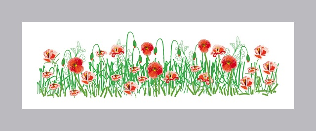 Christine Watson - Field of Poppies Tribute Landscape 2014