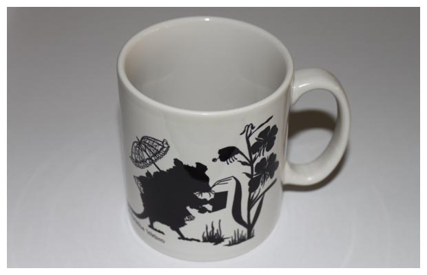 Mugs - Mouse with umbrella